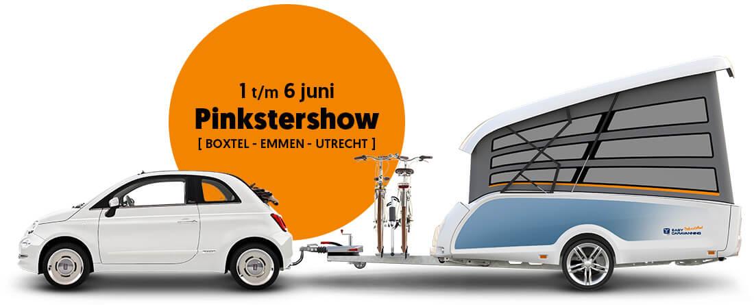 Pinkstershow Easy Caravanning in Boxtel, Emmen en Utrecht